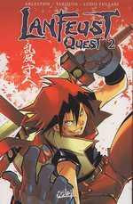 Lanfeust quest T2, manga chez Soleil de Tarquin, Arleston, Lullabi