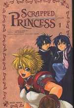 Scrapped Princess  T1, manga chez Soleil de Sakaki, Azumi, Yabuki
