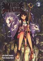Kurokami - Black God T3, manga chez Ki-oon de Park, Lim