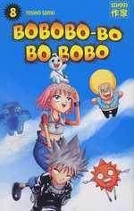 Bobobo-bo Bo-bobo T8, manga chez Casterman de Sawai