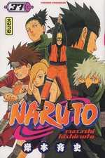 Naruto T37, manga chez Kana de Kishimoto