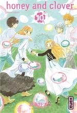 Honey and clover T10, manga chez Kana de Chica