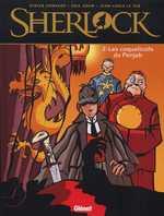 Sherlock T2 : Les coquelicots du Penjab (0), bd chez Glénat de Adam, Convard, Le Hir, Robin