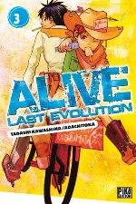 Alive - Last evolution  T3, manga chez Pika de Adachi, Kawashima