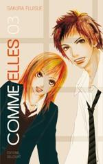 Comme elles T3, manga chez Delcourt de Fujisue