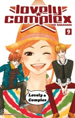 Lovely complex T9, manga chez Delcourt de Nakahara