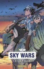 Sky wars T2, manga chez Casterman de Dongshik