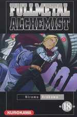 Fullmetal Alchemist T18, manga chez Kurokawa de Arakawa