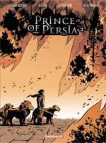 Prince of persia T2, comics chez Dargaud de Sina, Mechner, Puvilland, Pham, Sycamore