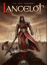Lancelot T1 : Claudas de la Terre Déserte (0), bd chez Soleil de Istin, Alexe, Jacquemoire