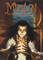 Merlin - La quête de l'épée T3 : Swerg le maudit (0), bd chez Soleil de Istin, Demare, Cordurié
