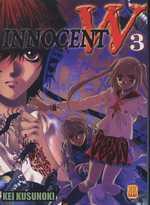 Innocent W  T3, manga chez Kami de Kusunoki