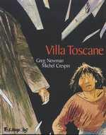 Villa Toscane, bd chez Futuropolis de Newman, Crespin