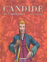Candide, de Voltaire T1, bd chez Delcourt de Dufranne, Delpâture, Radovanovic, Basset, Araldi