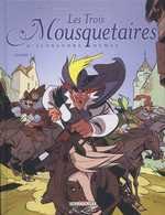 Les trois mousquetaires T3, bd chez Delcourt de Dufranne, Morvan, Ruben, Galopin