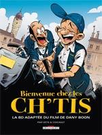 Bienvenue chez les ch'tis, bd chez Delcourt de Veys, Coicault, Ducasse, Ducasse