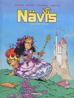 Nävis T5 : Princesse Nävis (0), bd chez Delcourt de Morvan, Munuera, Lerolle
