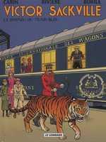 Victor Sackville T21 : Le Disparu Du Train Bleu (0), bd chez Le Lombard de Rivière, Borile, Carin, Bastin