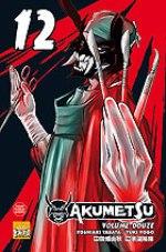 Akumetsu  T12, manga chez Taïfu comics de Tabata, Yogo