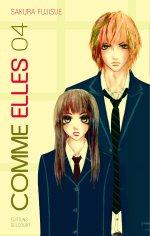 Comme elles T4, manga chez Delcourt de Fujisue