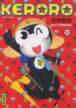 Keroro T10, manga chez Kana de Yoshizaki