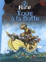 Rat's T7 : Tous à la flotte (0), bd chez Les Humanoïdes Associés de Viala, P'tiluc, Chapelier, Garcia
