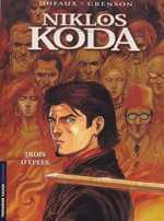 Niklos Koda T10 : Trois d'épées, bd chez Le Lombard de Dufaux, Grenson, Denoulet