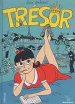 Trésor, bd chez Gallimard de Durbiano