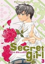 Secret girl T3, manga chez Asuka de Shimaki