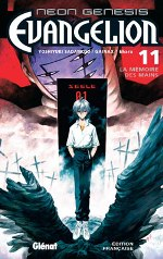 Neon-Genesis Evangelion T11, manga chez Glénat de Gainax, Sadamoto
