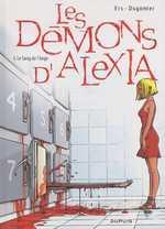 Les démons d'Alexia T5 : Le sang de l'ange (0), bd chez Dupuis de Dugomier, Ers, Smulkowski