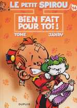 Le petit Spirou T14 : Bien fait pour toi (0), bd chez Dupuis de Tome, Janry, Stuf