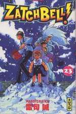 Zatch Bell T23, manga chez Kana de Raiku