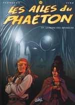 Les ailes du Phaeton T9 : La reine des Abysséens (0), bd chez Soleil de Plongeon, Fino, Dufourg