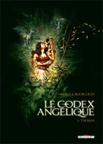 Le codex Angelique T3 : Thomas (0), bd chez Delcourt de Gloris, Bourgouin