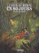 Le tour du monde en 80 jours, de Jules Verne T2, bd chez Delcourt de Dauvillier, Soleilhac
