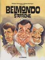 Belmondo s'affiche, bd chez Le Lombard de Gerra, Chanoinat, Collectif