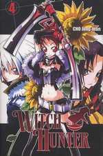 Witch Hunter T4, manga chez Ki-oon de Cho