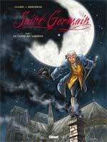 Saint-Germain T1 : Le comte des lumières (0), bd chez Glénat de Gloris, Bergeron