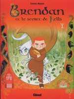 Brendan et le livre de Kells T1, bd chez Glénat de Moore