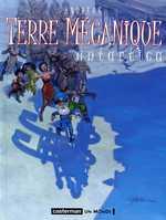 Terre mécanique T2 : Antartica (0), bd chez Casterman de Andreae