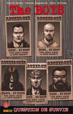 The Boys T9 : Question de survie, comics chez Panini Comics de Ennis, Burns, McCrea, Ezquerra, Aviña, Robertson