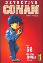 Detective Conan T58, manga chez Kana de Aoyama