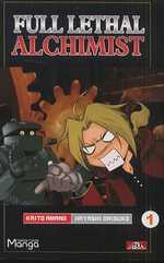 Full lethal alchimist T1, manga chez Clair de Lune de Amano, Hayashi