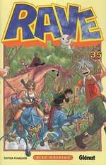 Rave T35, manga chez Glénat de Mashima