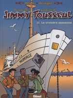 Les nouvelles aventures de jimmy Tousseul T3 : La croisière assassine (0), bd chez Glénat de Despas, Desorgher, Léonardo