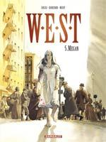 W.E.S.T. T5 : Megan (0), bd chez Dargaud de Dorison, Nury, Rossi