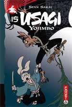 Usagi Yojimbo T15, manga chez Paquet de Sakai