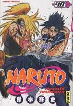 Naruto T40, manga chez Kana de Kishimoto
