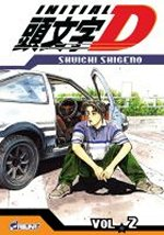 Initial D T2, manga chez Asuka de Shigeno
